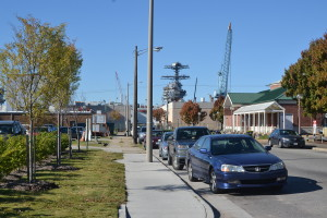 The City of Newport News directly abuts Newport News Shipbuilding